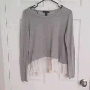 H&M Gray long sleeve sweater